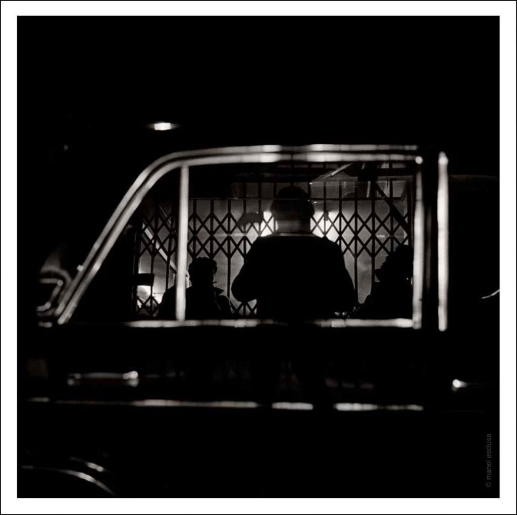 """Autorretrat"". Manel Esclusa (1980)"