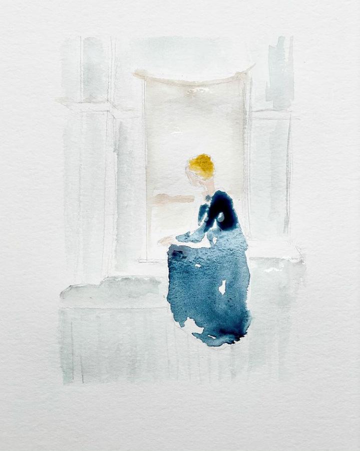 Aquarel·la de Cecília Bofarull