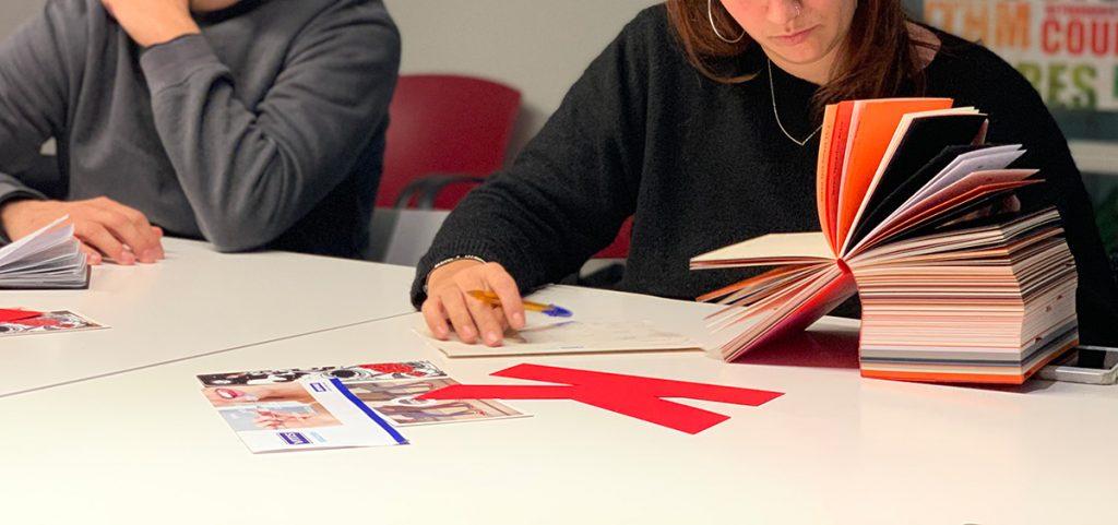 Estudiants d'EINA a Vanguard Gràfic