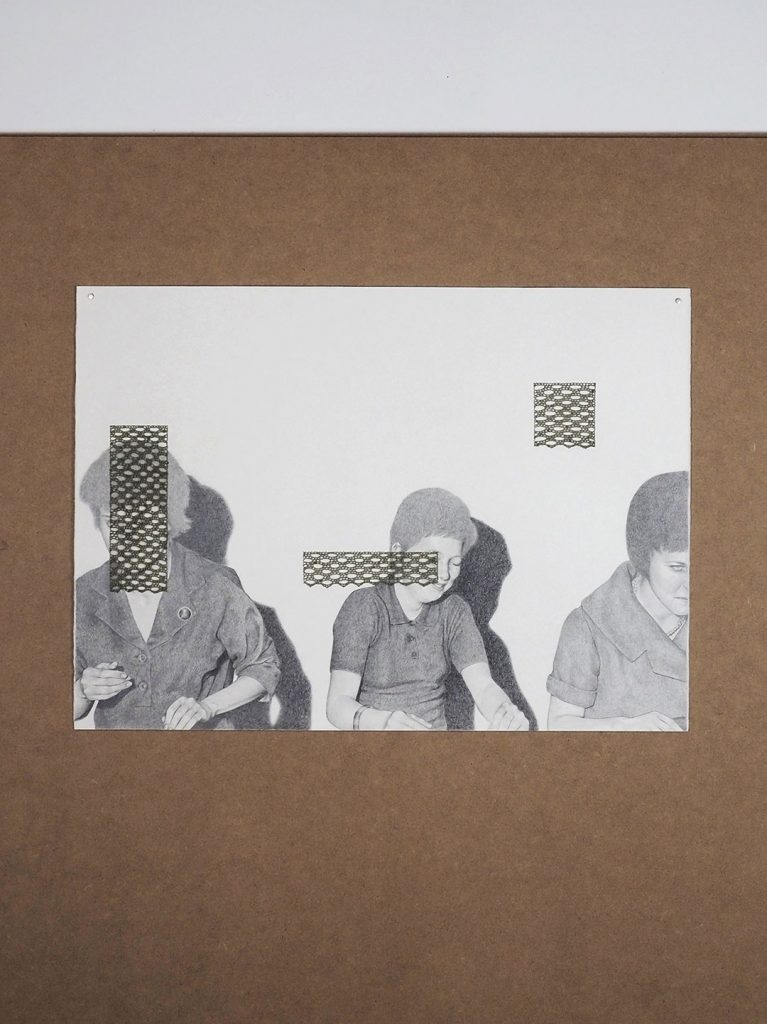 Martina Tarabal - Grafit + fil de paper