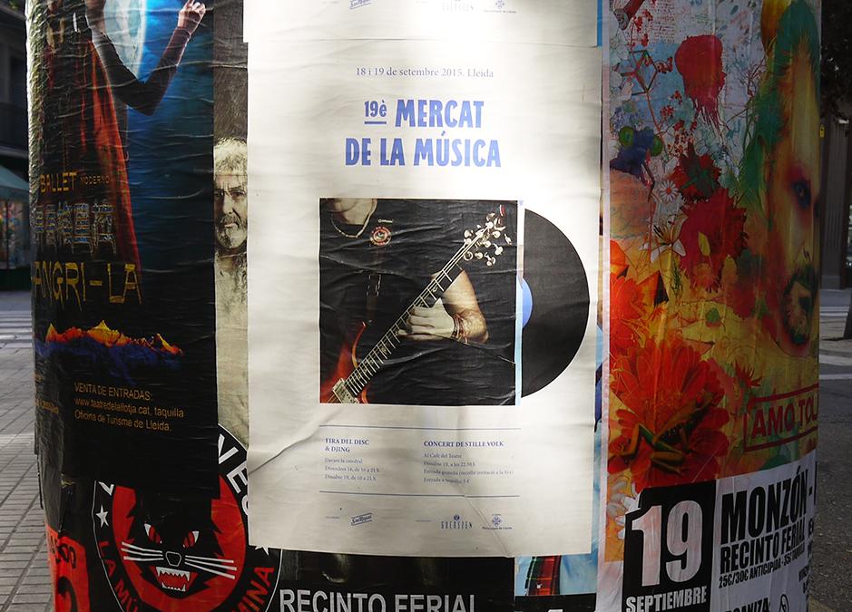 19è. Mercat de la Música de Lleida © SopaGraphics