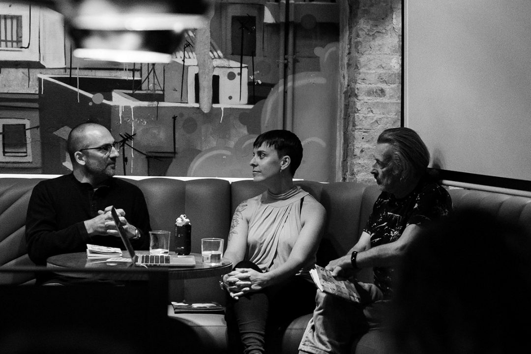 Alberto Polo, Lluc Massaguer, Manel Esclusa. Foto: Mariana Castel