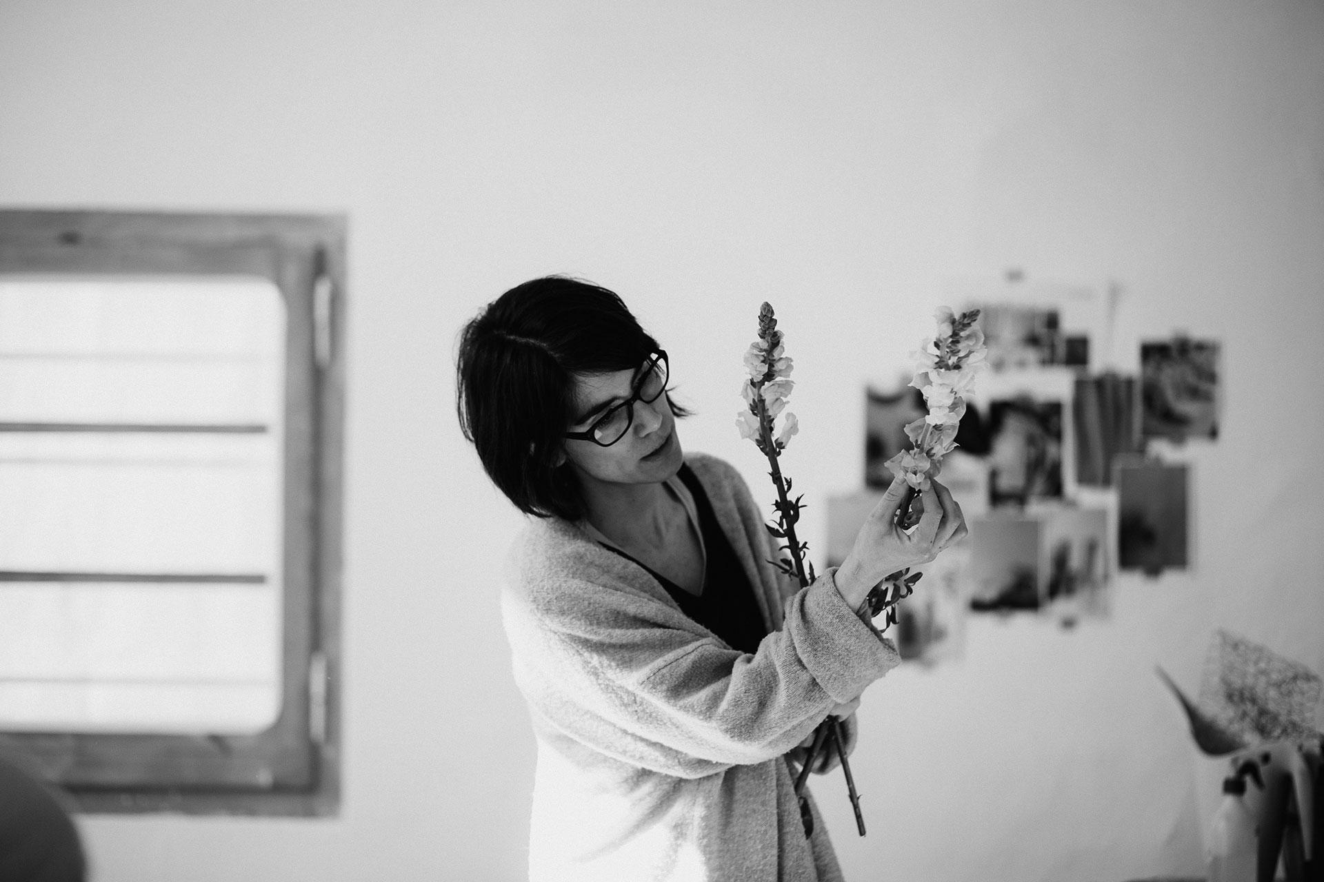 Violeta Gladstone. Foto: Serena Morandi